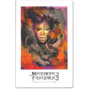 Carte postale d'art de Christophe Dougnac Louriane, L'Univers de Krystoforos