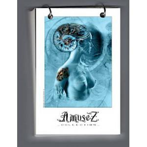 Bloc aquarelle Aurore Fibonacci de Christophe Dougnac, L'Univers de Krystoforos