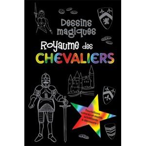 Dessins magiques, Royaume des chevaliers. Carnet à dessins aux éditions Presses Aventure.