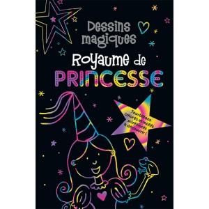 Dessins magiques, Royaume des princesses. Carnet à dessins aux éditions Presses Aventure.