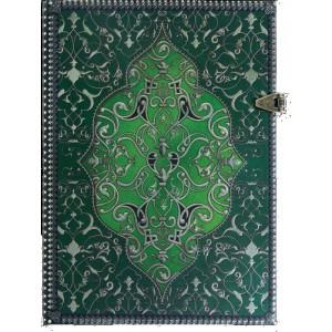 Joli répertoire téléphonique papier Lys vert, coll de carnets Boncahier