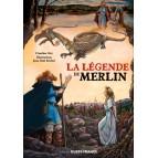 La légende de Merlin de Claudine Glot et Jean-Noël Rochut aux éditions Ouest-France