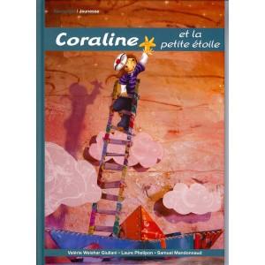 Coraline et la petite étoile, livre jeunesse de Valérie Weishar Giuliani, illustré par Laure Phelipon, éd. Eponymes