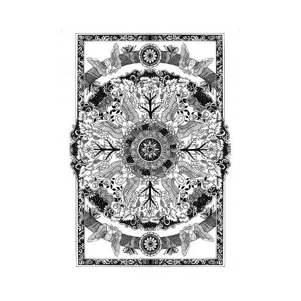 Coloriages pour adultes les mandalas d 39 hildegarde de bingen - Mandalas a colorier pour adultes ...