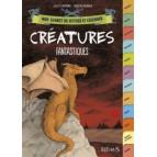 Créatures fantastiques, Mon carnet de mythes et légendes, livre jeunesse des éditions Fleurus