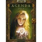 Agenda 2018 Fées de Sandrine Gestin, agenda annuel Au Bord des Continents...