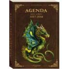 Agenda scolaire 2017-2018 Dragons de Séverine Pineaux, éd. Au Bord des Continents...