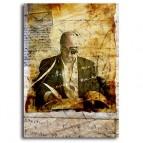 Tiré à part de Christophe Dougnac, affichette Correspondance, L'Univers de Krystoforos