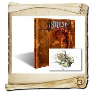 AmuseZ de Christophe Dougnac, le livre graphique & le carnet de croquis, L'Univers de Krystoforos
