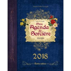 Mon Agenda de Sorcière 2018 de Denise Crolle-Terzaghi, agenda annuel aux éditions Rustica