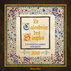 Le Calendrier des Simples 2018 de Erika Laïs, calendrier mural aux éditions Rustica