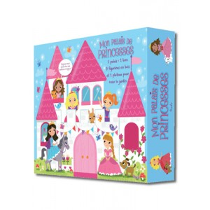 Mon Palais de Princesses, coffret de jeu, éditions Piccolia