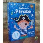 Coffret Deviens un pirate, déguise toi et joue! éd. Piccolia