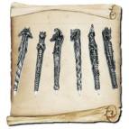 Lot de 6 stylos fantasy dragon