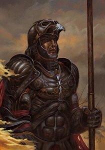 Carte Postale De Didier Graffet, Gorlois, duc de Cornouailles occis par Uther Pendragon