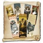 7 marques pages de chats de Séverine Pineaux, Les Histochats