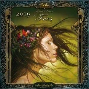 Calendrier Fées 2019, calendrier de Sandrine Gestin aux éditions Au Bord des Continents...