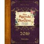Mon agenda de sorcière 2019, un agenda original de Denise Crolle-Terzaghi, éd. Rustica