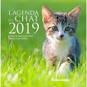 Agenda du Chat 2019, petit agenda de poche, éditions Rustica