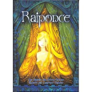 Raiponce. Une histoire des frères Grimm, illustrée par Lawrence Rasson