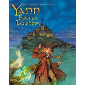 Yann Fées et Légendes, bande dessinée de Guy Michel et Ronan Le Breton, éditions Guymic