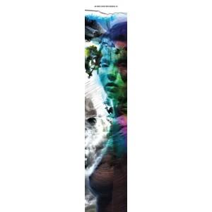 Thalie, marque page original de Christophe Dougnac, coll. AmuseZ