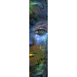 Thalie Bernhardt, marque page original de Christophe Dougnac, coll. AmuseZ