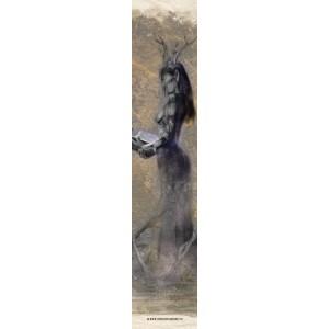 Grimoire, Marque page original de Christophe Dougnac, coll. Voie Y âgE