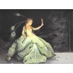Affichette féerique La robe de bal de Séverine Pineaux, coll. Ysambre
