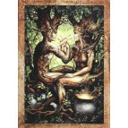 Tristan et Iseult, carte postale de Séverine Pineaux