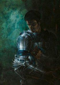 Carte Postale De Didier Graffet, Lancelot du Lac, noble chevalier de la Table Ronde
