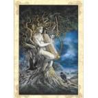 Samhain, carte postale féerique de Séverine Pineaux, coll. Ysambre