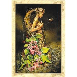 En mission, carte postale féerique de Séverine Pineaux, coll. Ysambre