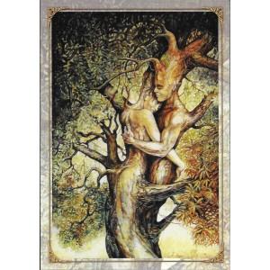 Pour toujours, carte postale féerique de Séverine Pineaux, coll. Ysambre