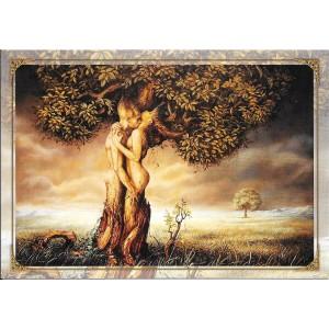 A jamais, carte postale féerique de Séverine Pineaux, coll. Ysambre