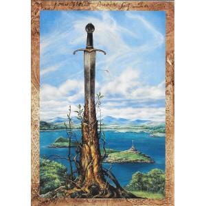 L'Épée du Roi, carte postale de Séverine Pineaux