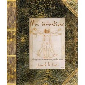 Léonard de Vinci Mes inventions, livre pop-up aux éditions Piccolia