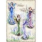 4 grandes figurines de fées «Flower Fairies»