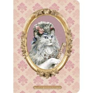 Carnet chat de Séverine Pineaux Marie-Chatounette, collection Histochats des éditions Au Bord des Continents...