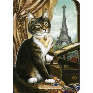 Carnet chat de Séverine Pineaux Gustave Eiffélin, collection Histochats des éditions Au Bord des Continents...