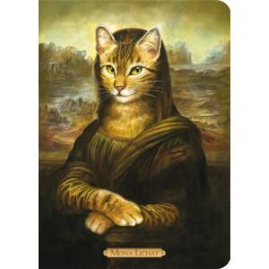 Carnet chat de Séverine Pineaux Mona Lichat, collection Histochats des éditions Au Bord des Continents...