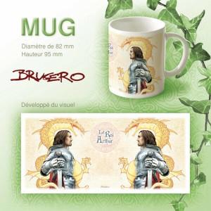 Mug Le Roi Arthur de Brucero