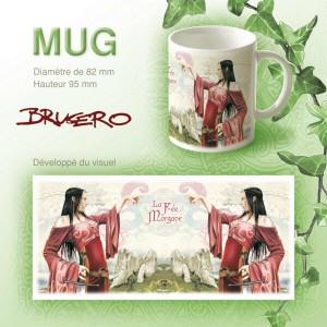 Mug La Fée Morgane de Brucero