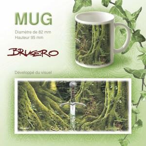 Mug original Excalibur de Brucero