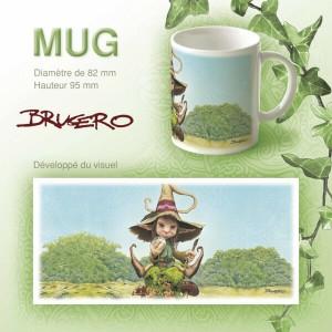 Mug original Le petit magicien de Brucero