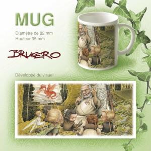 Mug original L'école de la forêt de Brucero