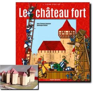 Livre Pop-up Le château fort de Dominique Ehrhard, Ouest-France