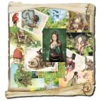 15 cartes postales de Brucero: A la recherche de la Mandragore