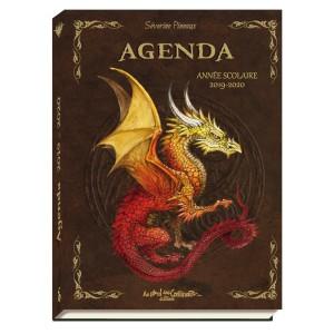 Agenda scolaire 2019-2020 Dragons de Séverine Pineaux
