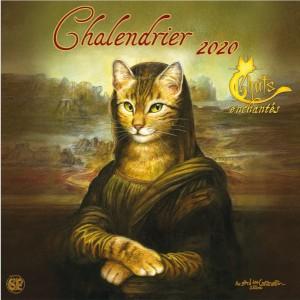 Calendrier Chats enchantés 2020 de Séverine Pineaux: Chalendrier